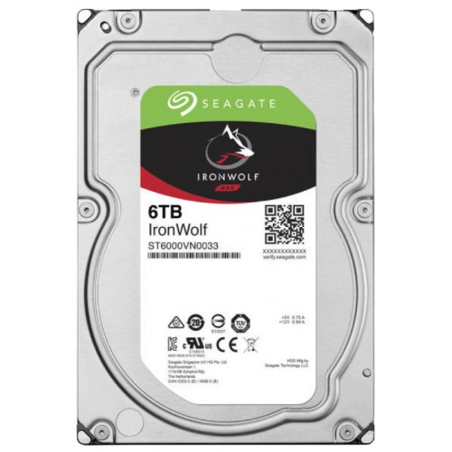 Накопитель HDD 6000 Gb Seagate ST6000VN0033