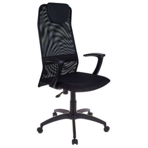 Кресло руководителя Бюрократ KB-8/BLACK