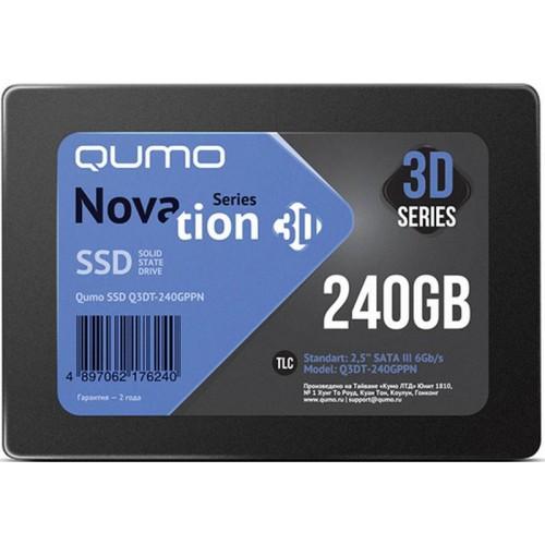 Твердотельный накопитель (SSD) Qumo 240Gb Novation