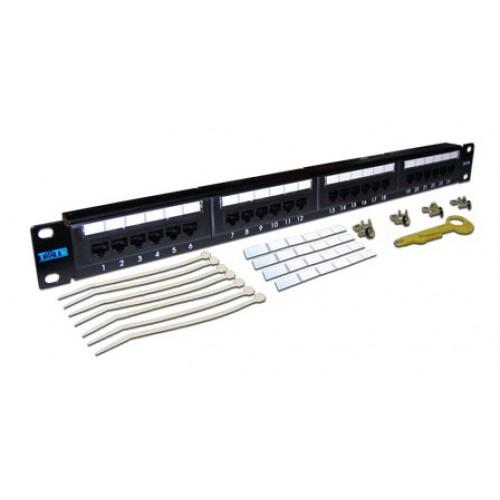 Патч-панель Lanmaster TWT-PP24UTP/6 (TWT-PP24UTP/6)