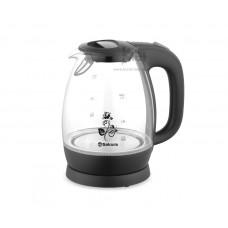 Чайник Sakura SA-2715BK black (1.7л/1850-2200Вт/стекло)