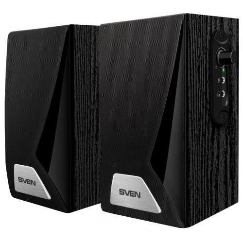 Акустическая система 2.0 Sven SPS-555 Black