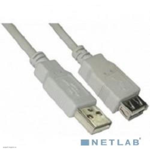 Кабель USB 2.0 Am-Af удлинитель  5.0м 5bites (UC5011-050C)