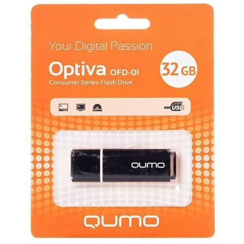 Накопитель USB 2.0 Flash Drive 32Gb Qumo Tropic