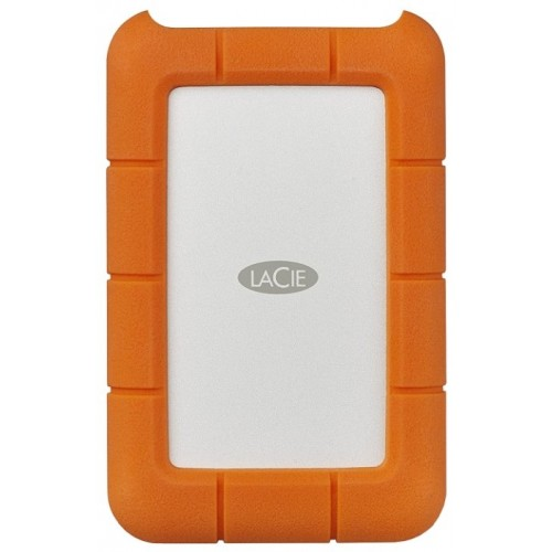 "Внешний накопитель HDD 2Tb USB 3.1 LaCie Rugged Mini 2.5"" Orange"
