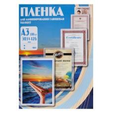 Пленка глянцевая А3 75 mk Office Kit (100 шт.) 303х426мм, для ламинирования (PLP10030)