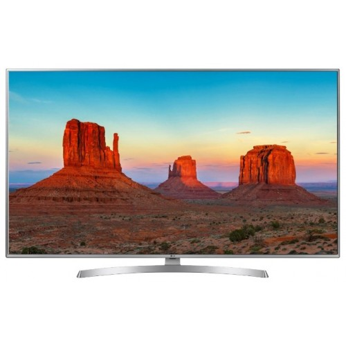 "Телевизор 43"" (108 см) LG 43UK6510PLB серебристый"