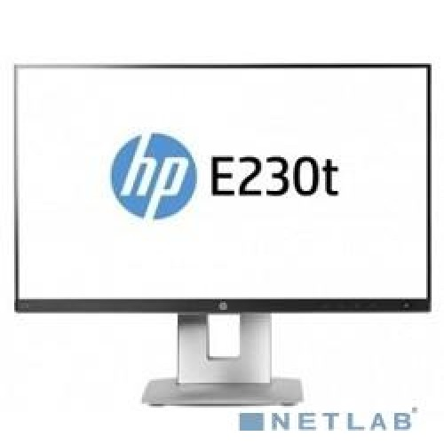 "Монитор TFT 23"" HP EliteDisplay E230t black IPS LED (W2Z50AA)"