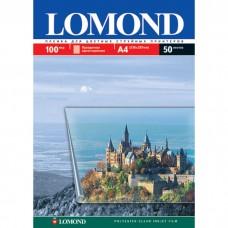 Плёнка Lomond для струйных А4, 50 листов, прозрачная 100мкр (0708415)