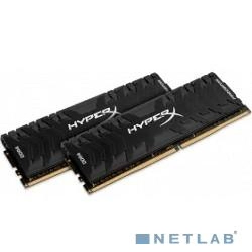 Комплект модулей DIMM DDR4 2*8192Mb (PC4-21300/2666MHz/CL13/RTL) Kingston HyperX Predator (HX426C13PB3K2/16)