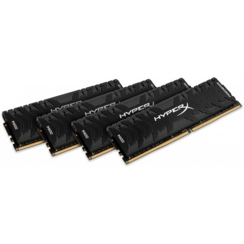 Комплект модулей DIMM DDR4 4*8192Mb (PC4-21300/2666Hz/CL13/RTL) Kingston HyperX Predator (HX426C13PB3K4/32)