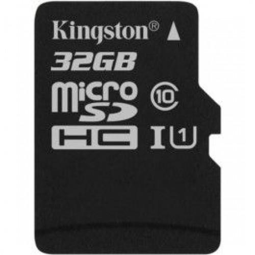 Карта памяти microSDHC 32Gb Kingston Canvas Select (SDCS/32GBSP)