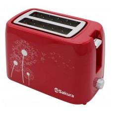 Тостер Sakura SA-7608R 750Вт красный