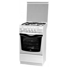 Плита Газоэлектрическая De Luxe 5040.21гэ(кр)чр белый