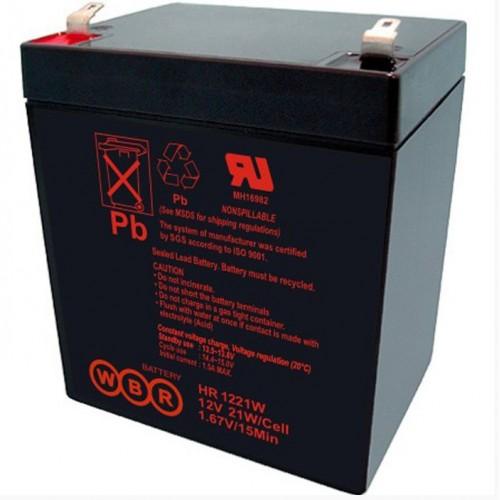 Аккумулятор 12V  5Ah WBR HR1221W