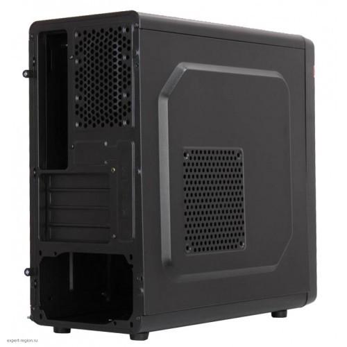 Корпус Minitower Accord M-02B черный w/o PSU mATX 2xUSB2.0 audio