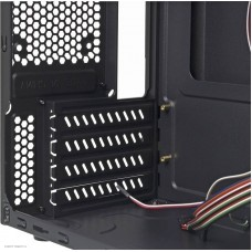 Корпус Minitower Accord A-08B черный w/o PSU mATX 2xUSB2.0 audio