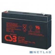 Аккумулятор  6V  7.2 Ah CSB GP672