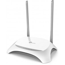 Маршрутизатор беспроводной TP-LINK TL-WR842N  (802.11n,300 Мбит/с,4xLAN 100 Мбит/сек,VPN,MIMO,LTE,3G,WEP,WPA,WPA2,USB)