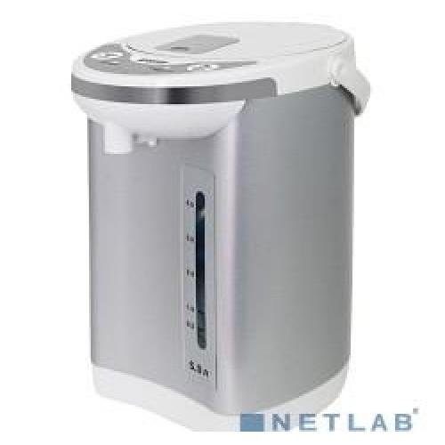Термопот Mystery MTP-2451 белый/серебристый 5л. 700Вт