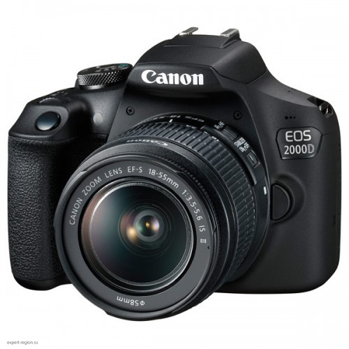 Зеркальный фотоаппарат CANON EOS 2000D kit 18-55 IS II