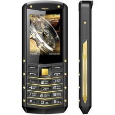Смартфон teXet TM-520R black/yellow 2SIM защищённый