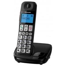 Телефон Panasonic KX-TGE110RUB большие кнопки