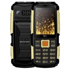 Мобильный телефон BQ BQM-2430 Tank Power black gold