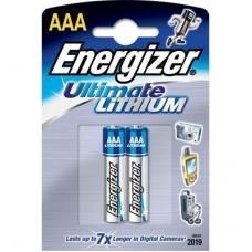 Батарейка AAA Energizer LR03 Lithium (2-BL) (24)