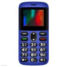 Мобильный телефон Vertex C311 blue 2SIM док-станция в комплекте