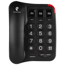 Телефон TEXET TX-214 чёрный