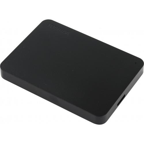 Внешний жесткий дискToshiba HDTB410EK3AA 1Tb USB 3.0 Canvio Basics