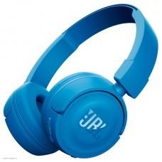 Bluetooth-наушники с микрофоном JBL T450BT синие