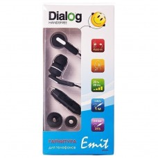 Проводные наушники с микрофоном Dialog ES-F15 (black)