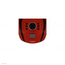 Магнитола Telefunken TF-SRP3449 красный с черным