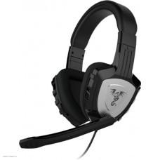 Наушники с микрофоном проводные Qumo Сhampion GHS 0001