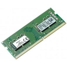 Модуль SO-DIMM DDR4 SDRAM 4096Mb Kingston (2400MHz/CL17/1.2V) (KVR24S17S6/4)