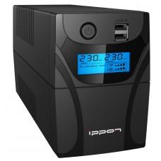 ИБП Ippon Back Power Pro LCD II 500 (500VA/300w/4xIEC/LCD/RJ-45/USB)