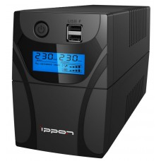 ИБП Ippon Back Power Pro LCD II 500 (500VA/300w/4xIEC/LCD/RJ-45/USB)