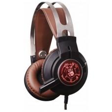 Наушники с микрофоном A4 Tech Bloody G430 (100dB/32om/20-20000Hz/2.2m)