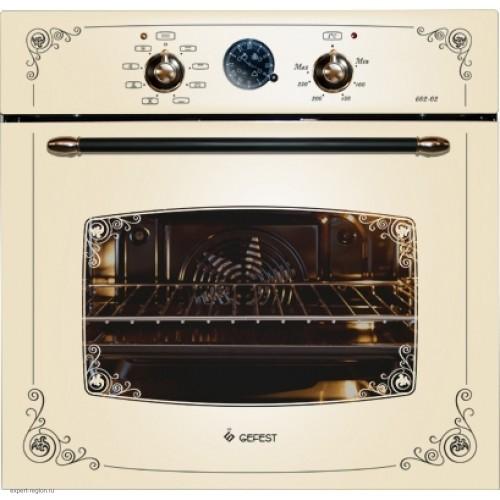 Встраиваемая духовка GEFEST ЭДВ ДА 602-02 С silver