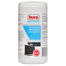 Салфетки чистящие влажные BURO BU-All_screen для фото/видео, телевизоров, мониторов, ноутбуков