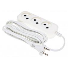 Удлинитель Buro BU-PSL3.3/W White (3-розетки/3m) (BU-PSL3.3/W)