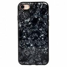 Чехол-накладка SC115 для Apple iPhone 7/8 (black)