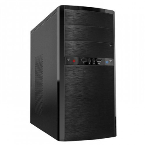 Корпус Minitower Powerman ES722BK black без БП mATX