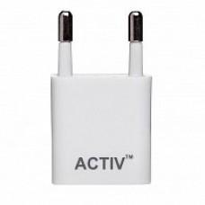 Сетевое зарядное устройство Activ Clean Line TAU1-1.5A-01 (white)