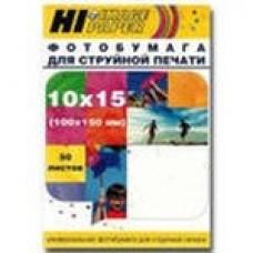 Фотобумага глянцевая 10x15 230 г/м 50 листов (Hi-image paper) конверт