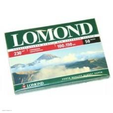 Фотобумага LOMOND 0102035 Глянцевая односторонняя 10x15 230г/м2. 50л