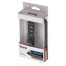 Концентратор USB 2.0 HUB Buro BU-HUB4-0.5L-U2.0 (4xUSB2.0)
