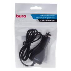 Автомобильное зарядное устройство Buro XCJ-048-EM-2A Black (2A/microUSB cable) (XCJ-048-EM-2A)